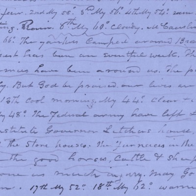 Henry boswell Jones Diary Excerpt june 1864.jpg
