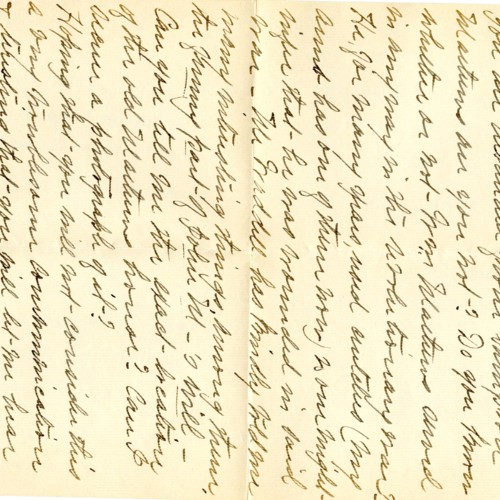 A letter written to A. L. Nelson from Wargant M. Ratcliffe (correspondence)