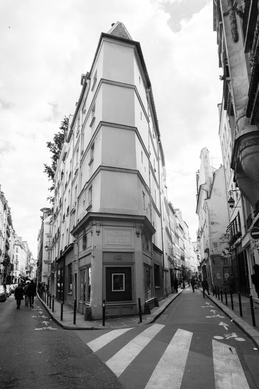 The Corner of Rue de Seine by Frances Conner