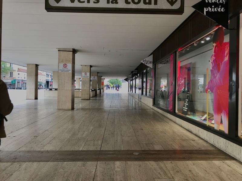 Montparnasse Galeries Lafayette, May 2018