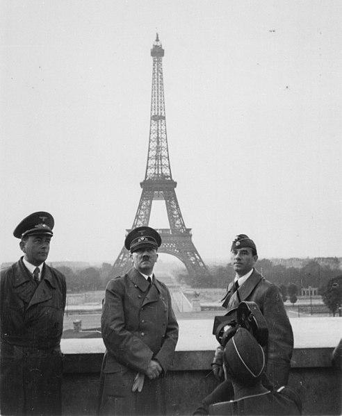 Hitler from Trocadero